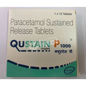 QUSTAIN P 1000 MG TABLET