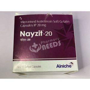 NAYZIT - 20 CAPSULE