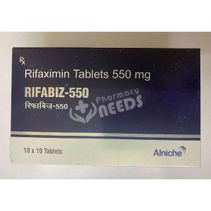RIFABIZ 550MG TABLET