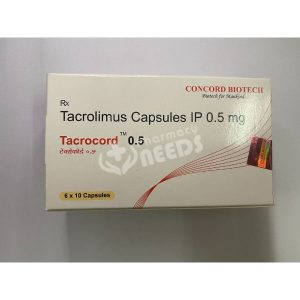 TACROCORD 0.5 MG CAPSULES
