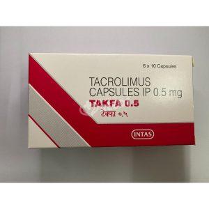 TAKFA 0.5 MG CAPSULES