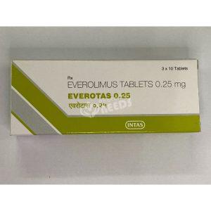 EVEROTAS 0.25MG