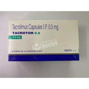 TACROTOR 0.5 MG CAPSULES